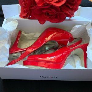 STYLE&CO peep toe heels